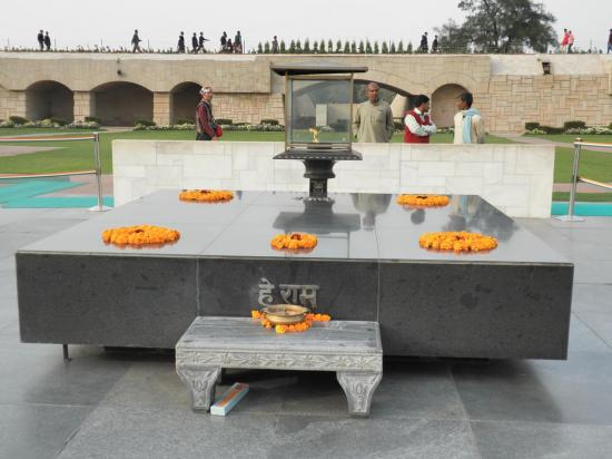 mausolée de Gandhi