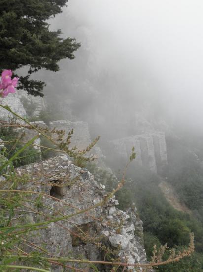 St Hilarion dans les nuages