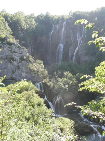 Lacs de Plitvice - la haute cascade